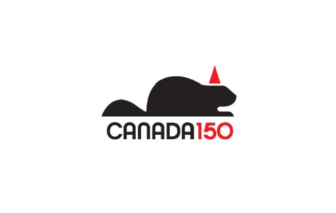 These independently designed Canadian sesquicentennial logos are way better than the real ones