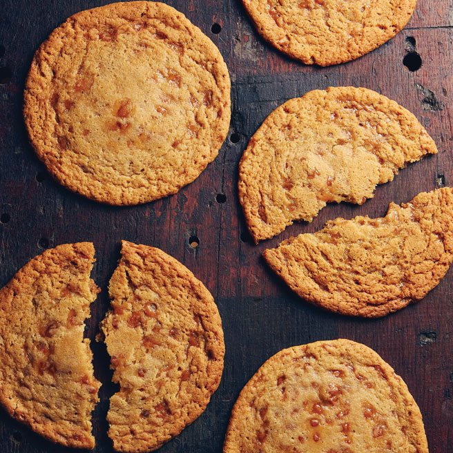 Recipe: the blissfully chewy toffee bit cookies from Moo Milk Bar