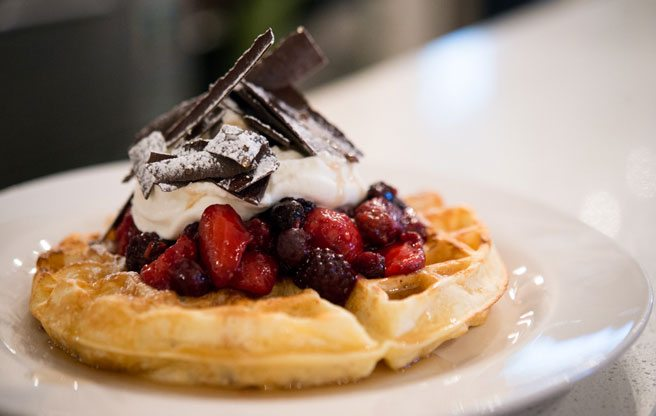 A new indie coffeehouse brings caffeinated beverages (and Belgian waffles) to east Leslieville