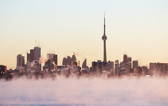 Toronto Cold Snap 2014