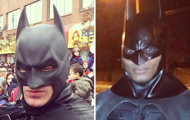"Toronto Batman ""doesn't have a problem with"" Brampton Batman"