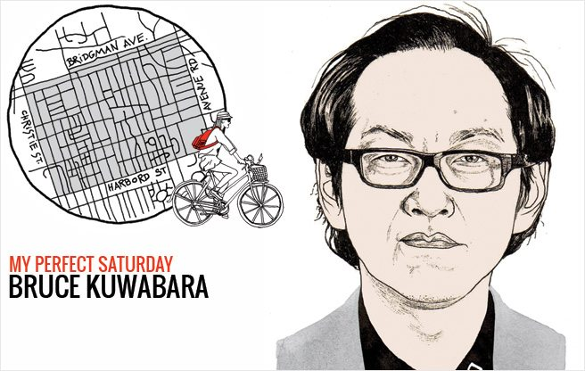 How architect Bruce Kuwabara would spend a perfect Saturday in the Annex