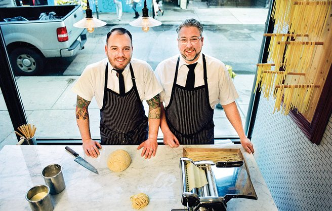 Chef's Choice: Tye Thomas and Bryan Lavers of Thomas Lavers Cannery pick their favourite food destinations