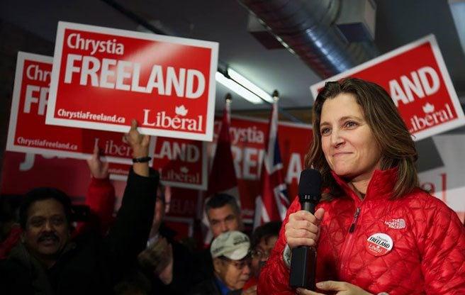 Toronto Centre MP Chrystia Freeland explains Canada to Americans