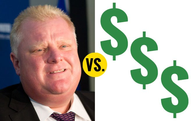 QUOTED: Rob Ford on Toronto's rising unemployment rate