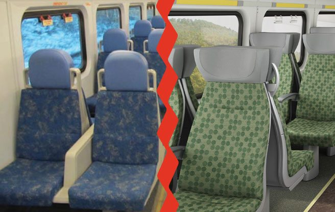 GO train seats are about to get cushier, curvier and cleaner