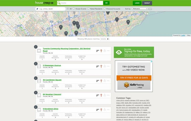 Need to check a home's criminal record? This website can help