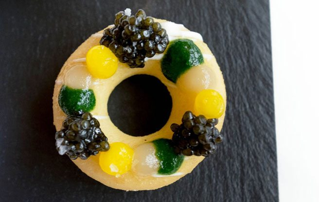 Must-Try: the fanciest doughnut imaginable from Bosk at the Shangri-La Hotel