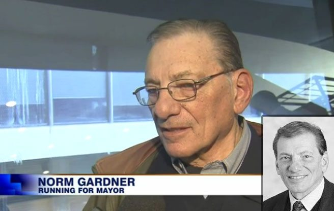Now running for mayor: Norm Gardner, yet another guy with weird allegations in his past