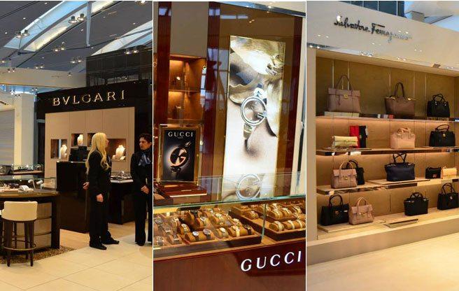 Ferragamo, Gucci and Bulgari now open at Pearson International Airport
