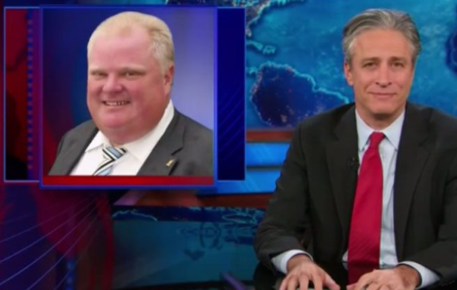 QUOTED: Rob Ford on whether he watches late-night comedy routines about himself