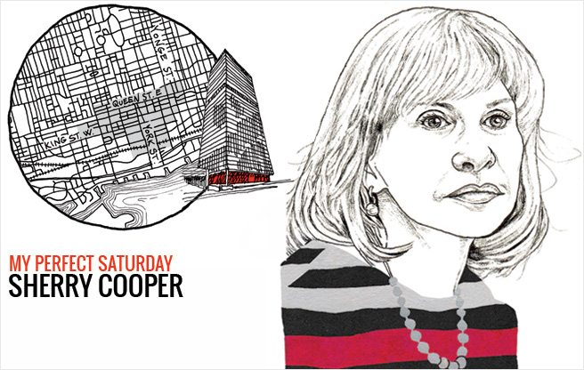 How Sherry Cooper, former chief economist of BMO Financial Group, would spend a perfect Saturday in the Financial District