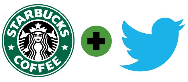 You can send Starbucks coffees to your friends over Twitter now