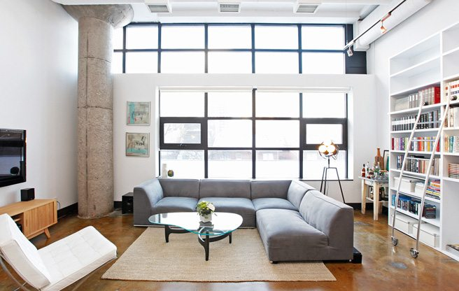 Condo of the Week: $620,000 for a Regent Park loft in a former CBC warehouse