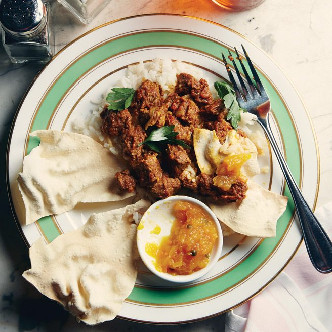 Toronto Life Cookbook Recipe 2013: Lamb Curry