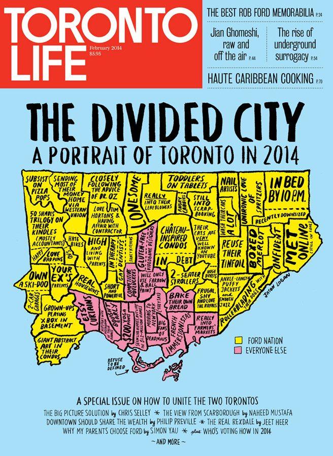 Toronto Life—February 2014