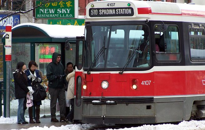 The TTC says today's rush hour is going to be a mess for streetcar riders