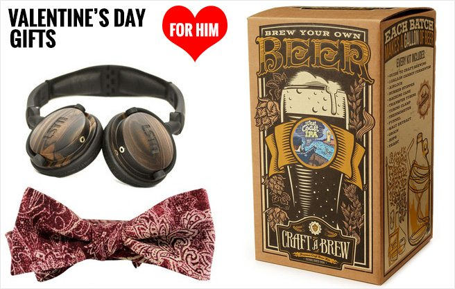 Valentine's Day Gifts for Him: 15 gift ideas for lads, from inexpensive to extravagant