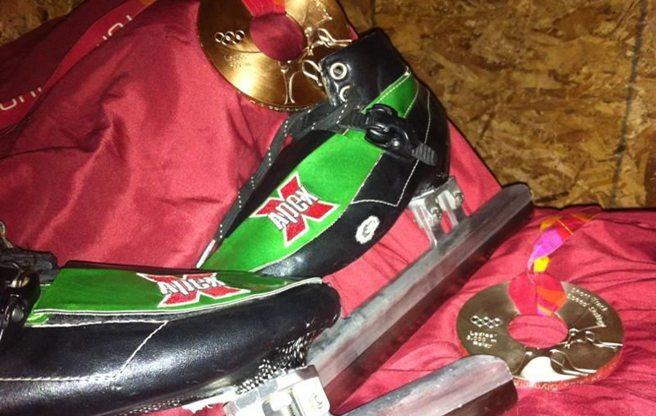 Canadian speedskater Anouk Leblanc-Boucher is selling her Olympic silver medal for $1 million on Kijiji