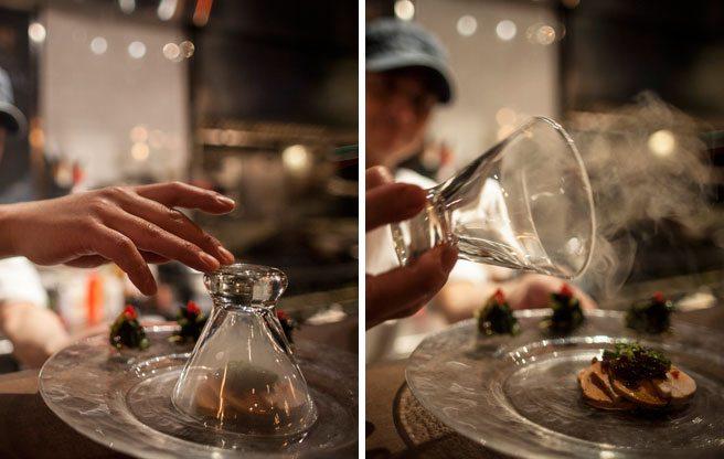 Must-Try: the smoky monkfish foie gras from Hapa Izakaya
