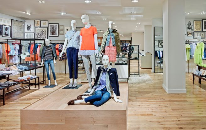 """J.Crew's first Canadian """"Collection"""" store is now open on Bloor Street West"""