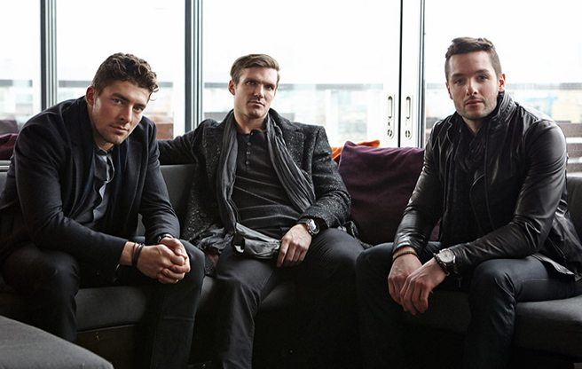 PHOTO: The Leafs' Joffrey Lupul, David Clarkson and Jonathan Bernier look dreamy for John Varvatos menswear