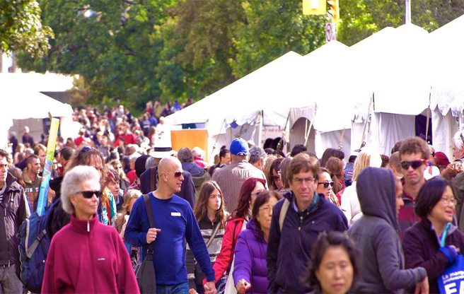 Two of Toronto's favourite book festivals, Word on the Street and the International Festival of Authors, are teaming up