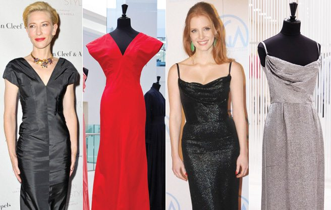 Browse the glamorous gowns for sale at Holt Renfrew's Balenciaga trunk show
