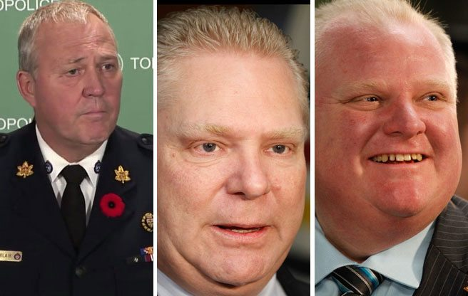Toronto Police ask the OPP to oversee the investigation into Rob Ford