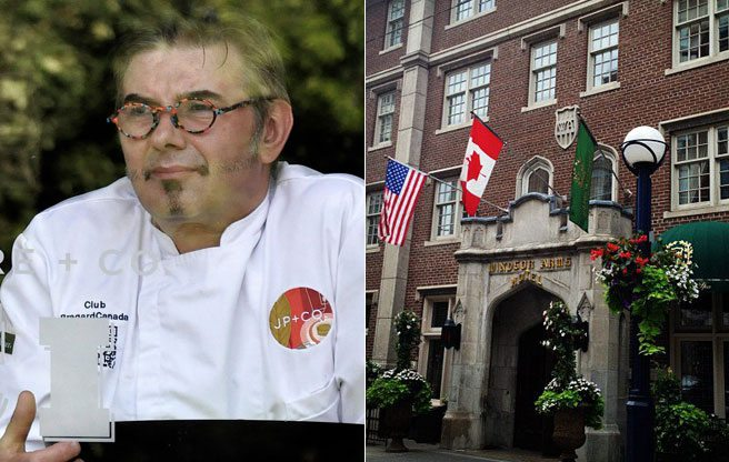 Ici Bistro's J.P. Challet is moving back to the Windsor Arms