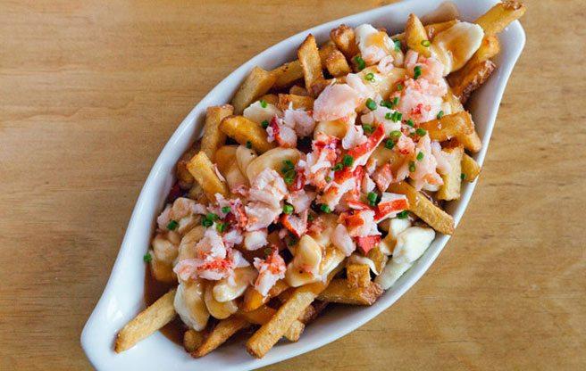 Rock Lobster's famous lobster-topped poutine (Image: Renée Suen)