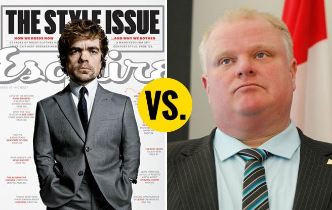 <em>Esquire</em> profiles Rob Ford; nobody cares