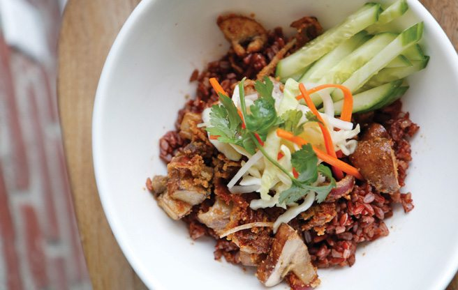 Introducing: Grasshopper, a new vegan restaurant near U of T where nothing costs more than $10