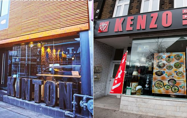 Kenzo vs. Kinton: rival ramen chains set their sights on the Queen West strip