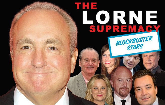 The Lorne Supremacy: Blockbuster Stars