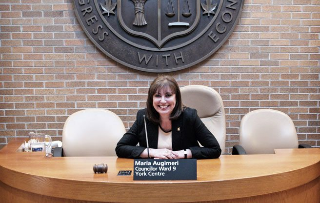Say hello to Maria Augimeri, your new TTC chair