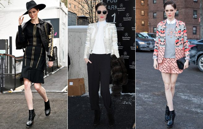 Canadian model Coco Rocha dominates street style at New York Fashion Week