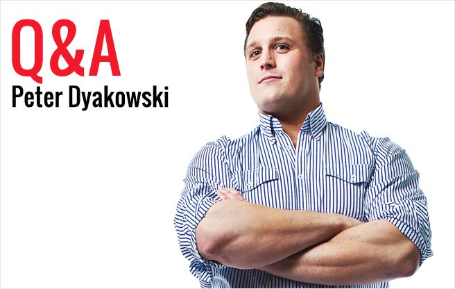 Q&A: Peter Dyakowski, CFL player and game-show master