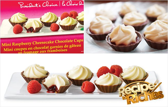 <em>Recipe to Riches</em> Recap and Taste Test: episode 1, Mini Raspberry Cheesecake Chocolate Cups