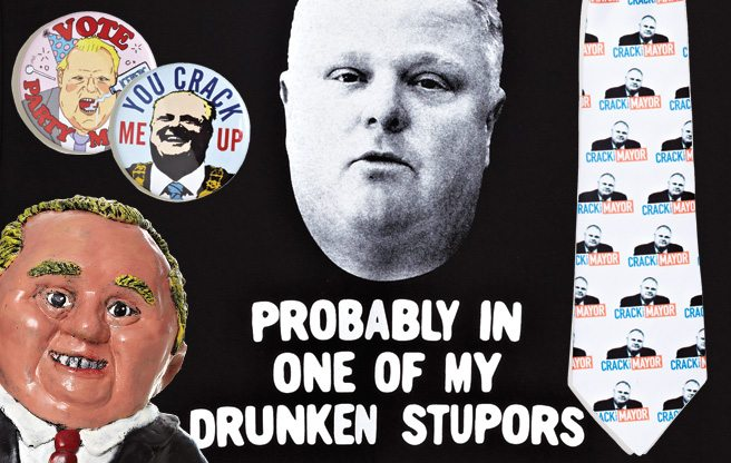 The Crackgate Economy: the nine best items of Rob Ford memorabilia