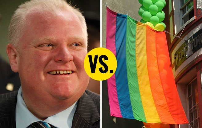 Rob Ford demands city hall's Pride flag be removed, then discovers he doesn't have the authority to remove it