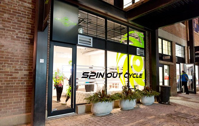 Introducing: Spinout Cycle, a hyper-competitive new spin studio in Liberty Village