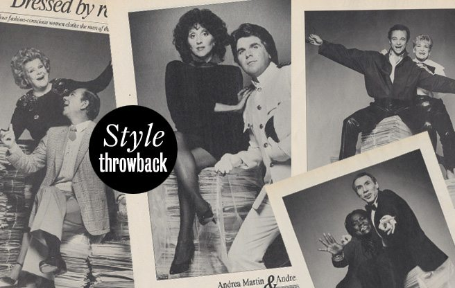 Style Throwback: chic Toronto women give style makeovers to the city's big shots in Spring 1983
