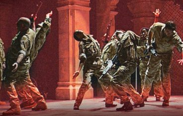 The Argument: Mirvish's whimsical new war drama stars real-life combat vetrans, stumps and all