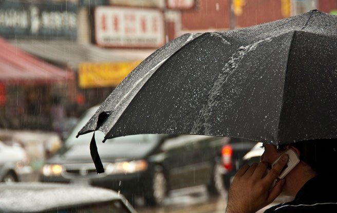 Get out your wellies and your cameras, Toronto: there could be flooding this afternoon