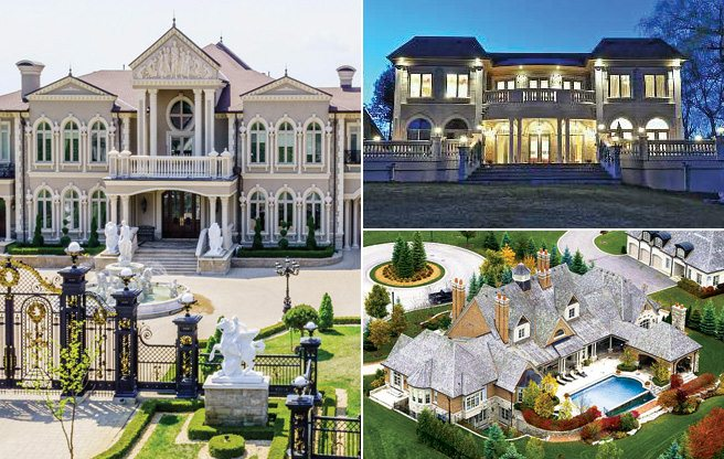 Bridle Path North: nine astounding megamansions in Vaughan