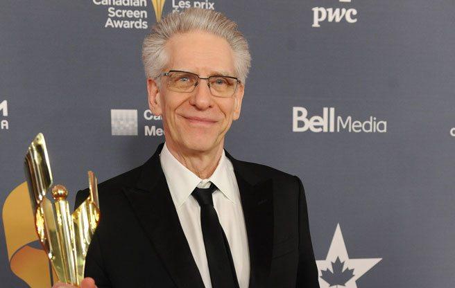 David Cronenberg. (Image: Courtesy of the Canadian Screen Awards)