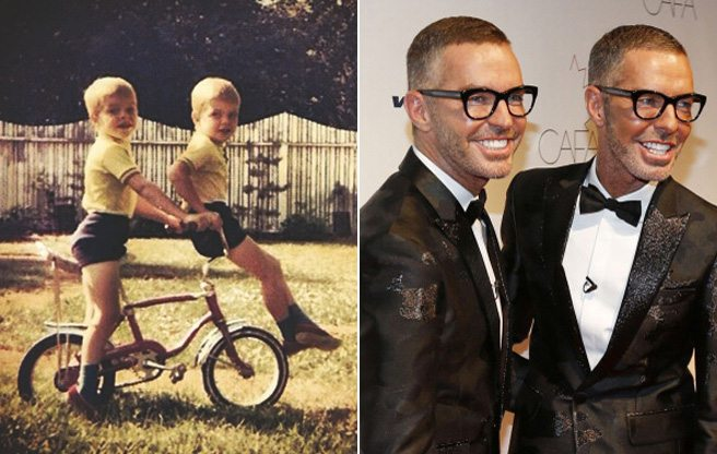 PHOTO: See the identical-twin designers of DSquared2 as adorable children