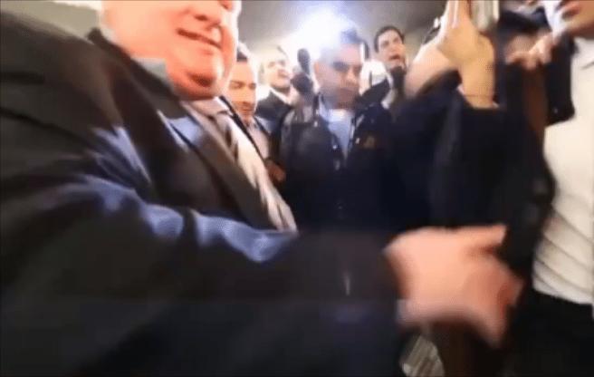 Why is the mayor chumming around with British food critic Giles Coren?