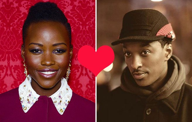 K'naan and Oscar-winning Lupita Nyong'o hugged in public, so obviously they're in love